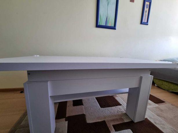 Prawie nowa rozkładana ławo-stół 130/170 * 70*55/70