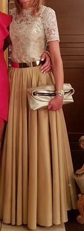 Przepiękna suknia szyta z koła