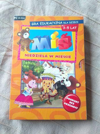 Gra edukacyjna dla dzieci 3-5 lat Miś niedziela w mieście WSiP