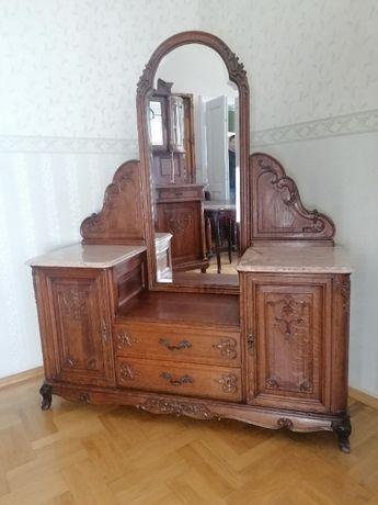 komoda ludwikowska z lustrem do korytarza holu