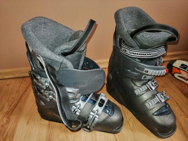 Narty Fischer Elan sprzedam tanio plus buty
