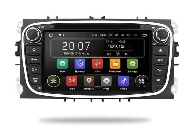 RADIO FORD ANDROID 9.0 2GB Focus Mondeo S-max Nawigacja Dostawa 24H