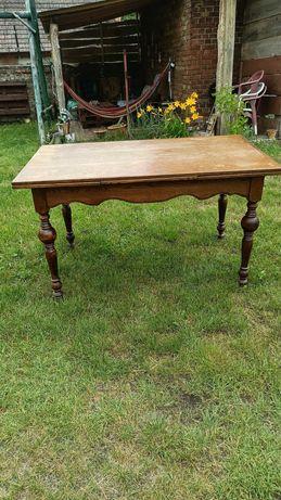 Stół dębowy rozkładany + krzesła renowacji