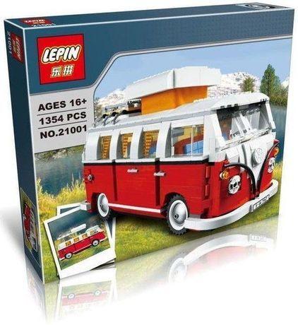 Volkswagen T1 Camper Van - Tipo Lego