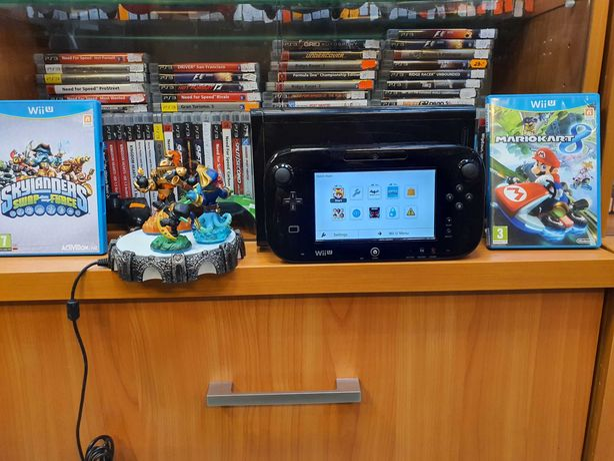 Konsola WiiU Premium 32gb MarioKart8 Skylanders Gwarancja Okazja Sklep