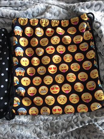 Worek na buty/ plecak Emoji