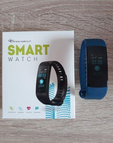 Smart watch opaska zegarek Fitness Platinium