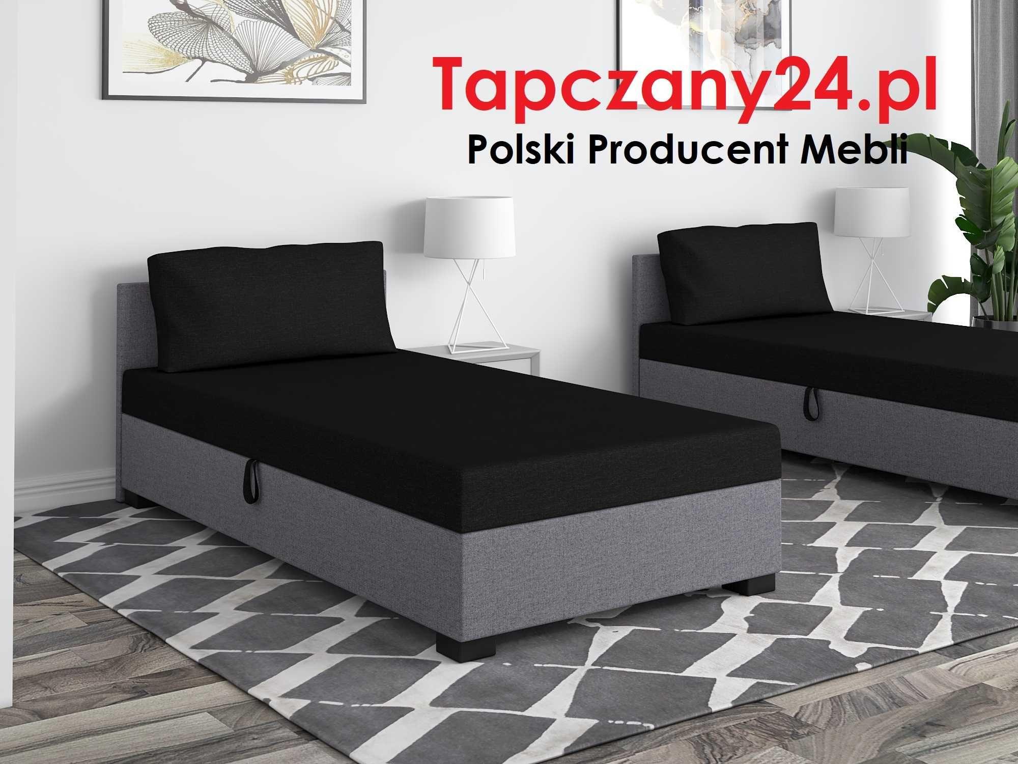 Łóżko hotelowe młodzieżowe jednoosobowe Tapczan 80/90/100 PRODUCEN