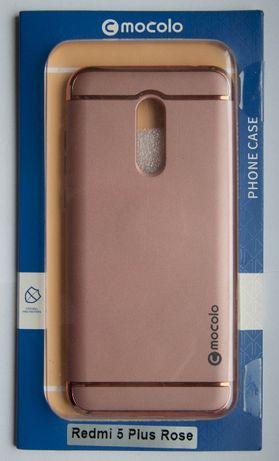 Etui Mocolo Supreme Luxury Xiaomi Redmi 5 Plus Rose
