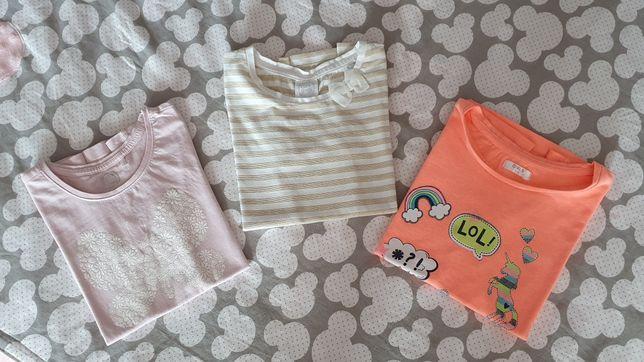 TANIO 3 bluzki dla dziewczynki- Cool Club, Pepco
