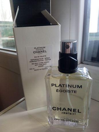 Tester Chanel Egoiste Platinum EDT 100 ml.