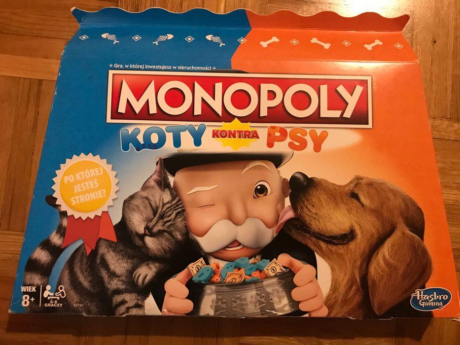 gra planszowa monopol psy i koty warszawa Warszawa - image 1