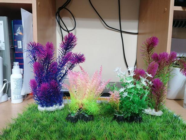 Plantas artificiais para aquário