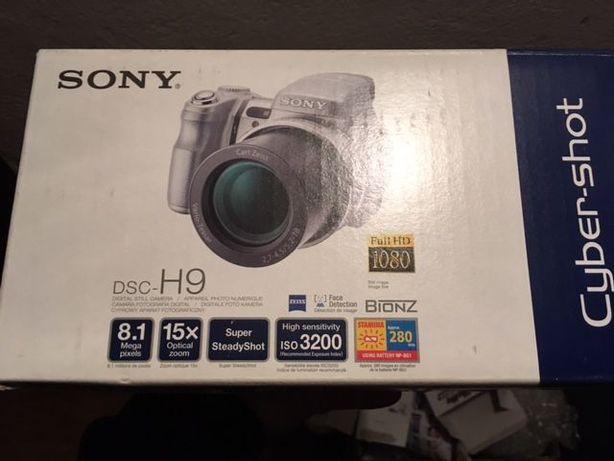 SONY DSC-H9 aparat cyfrowy , zestaw