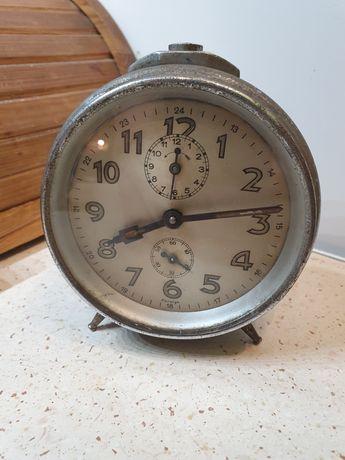 Stary budzik zegarek prl vintage