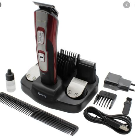 Машинка для стрижки Gemei GM-592 10в1 с триммером для бороды