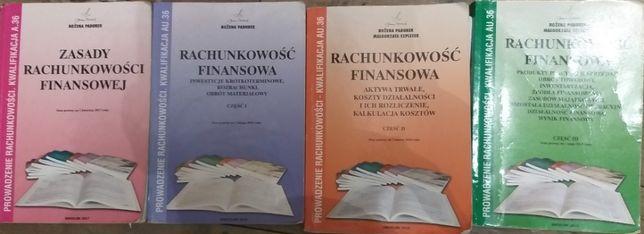 podręczniki do Rachunkowości 1-4 klasa technikum