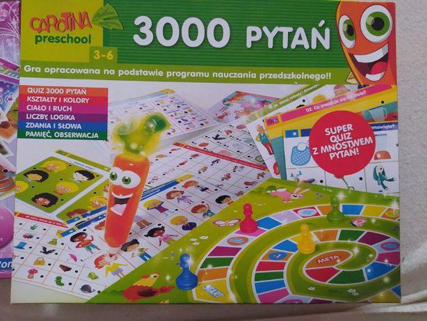 Lisciani 3000 pytań PRZEDSZKOLAKA KAROTKA -Gry gra