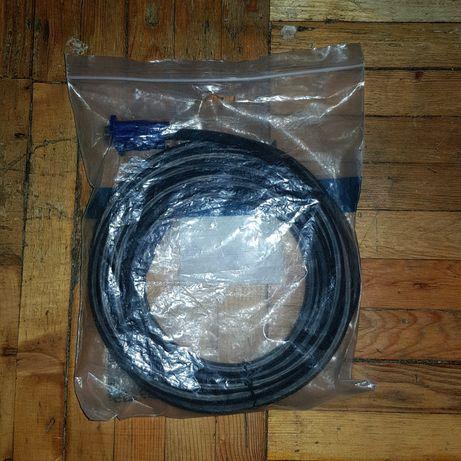 Vga кабель 5 метров (D-sub)VGA - VGA  , Sata III кабель в подарок