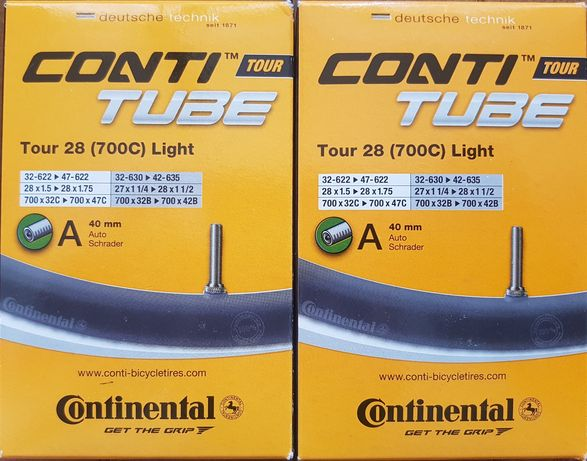 Супер легкие камеры Continental tour light