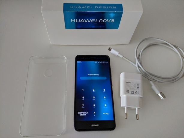 "Huawei Nova 5"" grey (CAN-L11) 3/32 GB / NFC / 2 sim / Type-C"