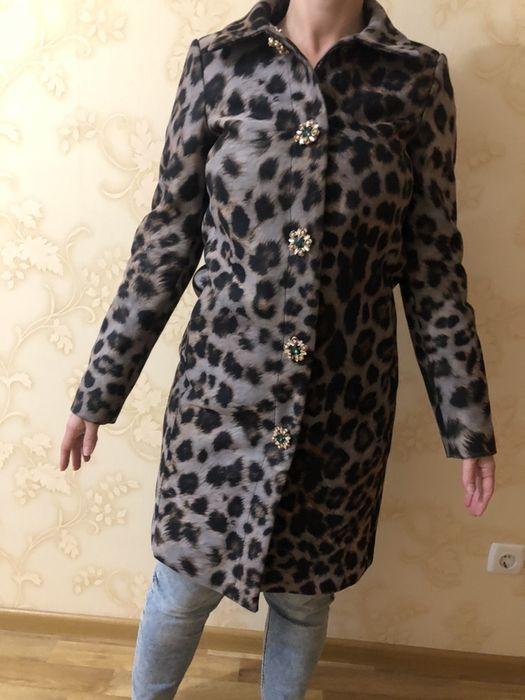 Продам красивое леопардовое пальто Sassofono! Киев - изображение 1