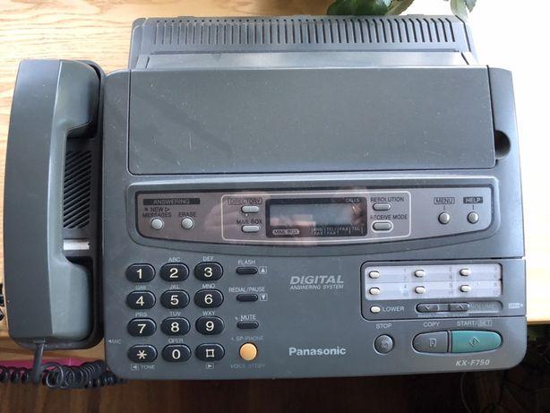 Telefon Fax panasonik KX-F750