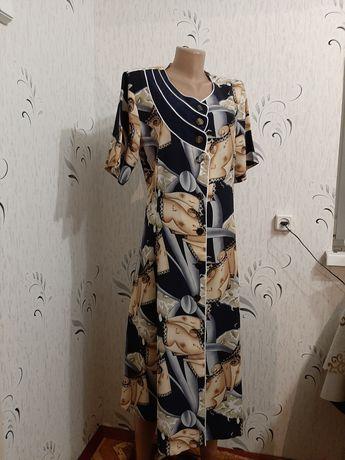 Крутое платье-халат