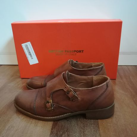 Sapatos Oxford British Passport 36