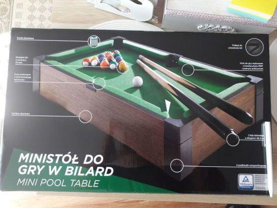 mini stół do gry w bilard nowy