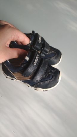 Кожаные кроссовки Geox на мальчика