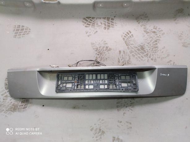 Renault Scenic II 2 listwa klapy tył blenda