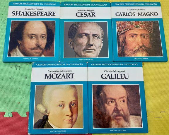 Coleção Grandes Protagonistas da Civilização 7 livros