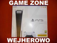PS5 1TB + 2 gry + pad DualSense + hdmi = Wejherowo / PlayStation 5