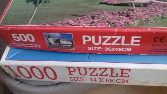 Puzzle 500 elementów i 1000 elementów Wenecja.