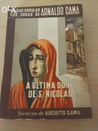 Livro de romance 'de arnaldo gama'
