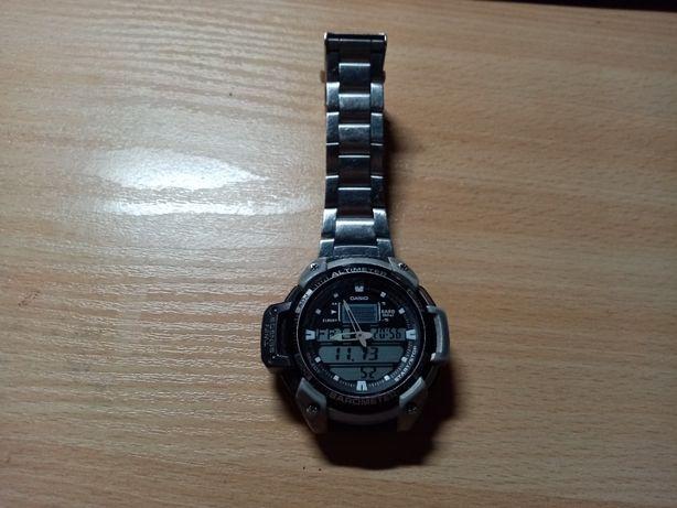 casio sgw-400hd-1bver jest to wersja z fabryczną bransoletą