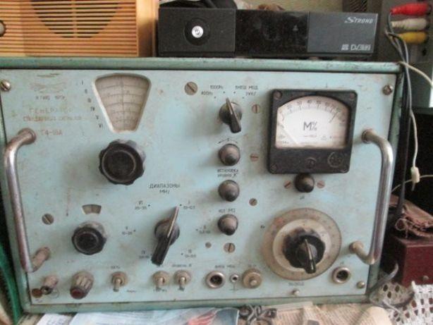 Генератор стандартных сигналов Г4-18А