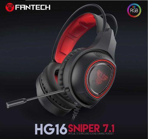 Игровая гарнитура / наушники Fantech HG16 Sniper 7.1 HG16 (Супер цена)