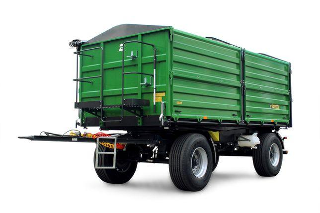 Przyczepa ZASŁAW 14 ton D737-14 NOWA gwarancja - cena do negocjacji