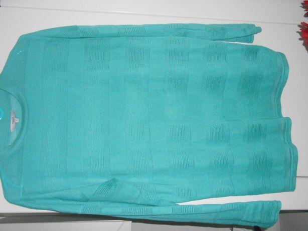 zielona bluzka na wiosnę NEXT UK 12