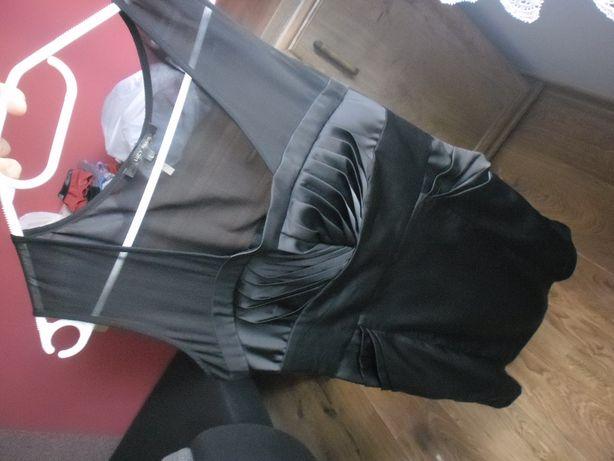 sukienka 40 L czarna ołówkowa