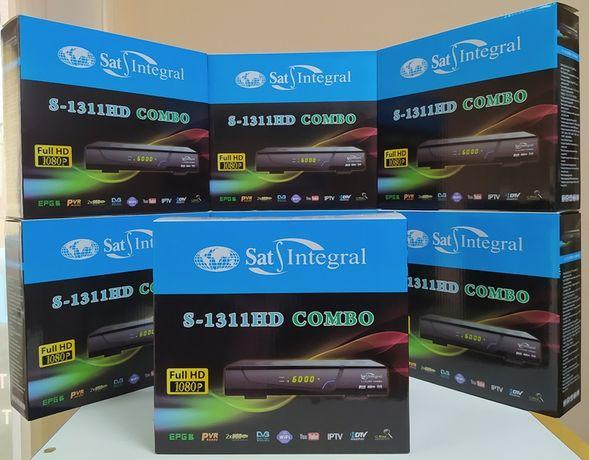 Mpeg4 Комбинированный DVB-T/T2/S/S2 тюнер Sat-Integral S-1311 COMBO HD