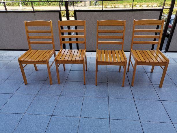 Sprzedam krzesła 4szt