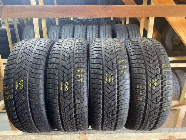 Шини зимові 245/45R19 Pirelli Sottozero3 7мм 4шт 18рік РАНФЛЕТ