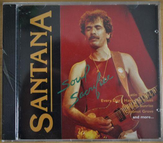 CD - SANTANA, Soul Sacrifice, novo e selado