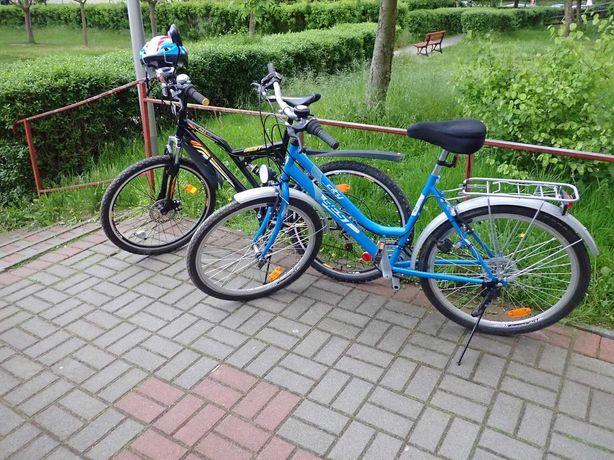 Rowery 2 + nowy kask