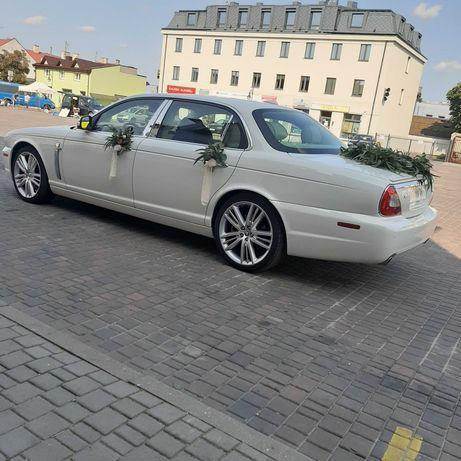 Auto do ślubu  Jaguar Long