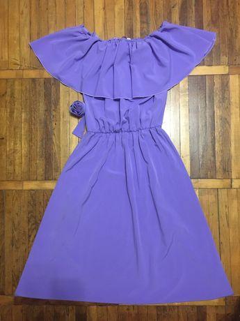 Коасивое платье в пол с открытыми плечами!