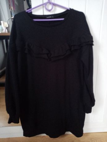 Sliczna gruby dres Reserved sukienka L